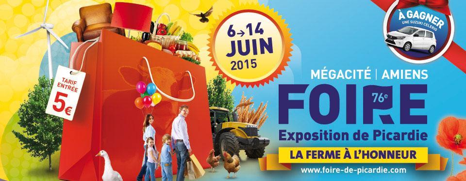 Foire exposition de picardie 2015 for Amiens foire expo