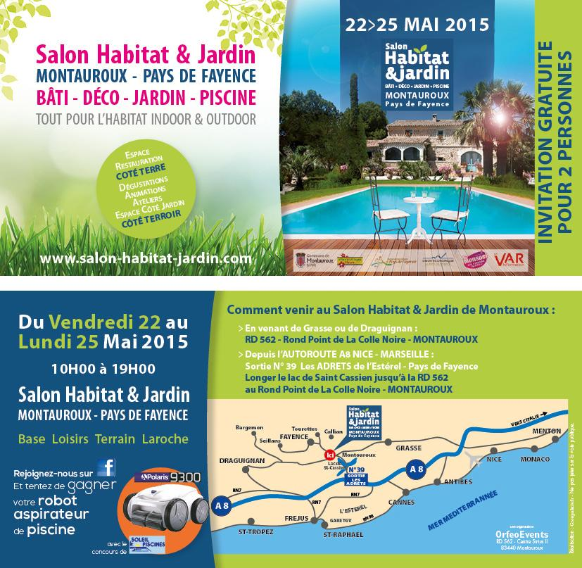 Salon habitat jardin montauroux 2015 bozarc for Habitat jardin 2015