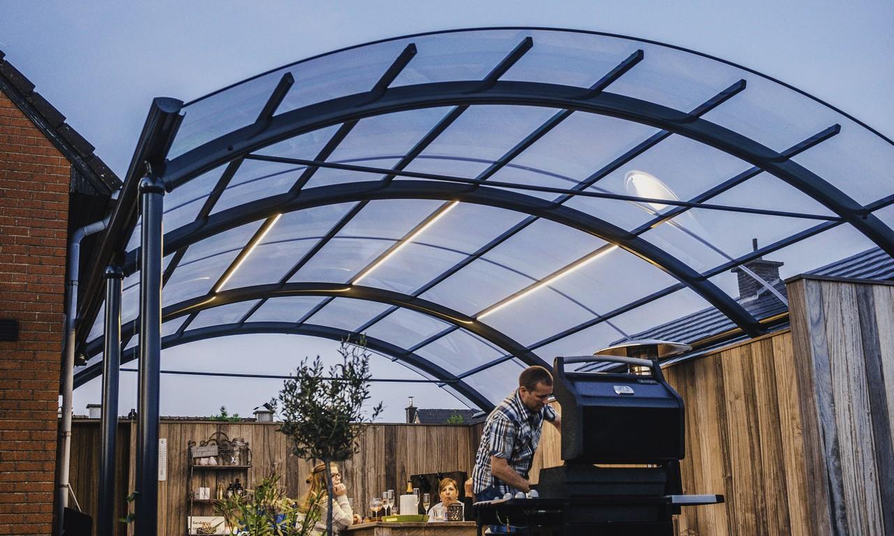 abri pour terrasse amazing abri terrasse aluminium modles coulissants rnoval with abri pour. Black Bedroom Furniture Sets. Home Design Ideas