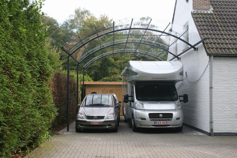 des carports design pour camping car au meilleur prix bozarc. Black Bedroom Furniture Sets. Home Design Ideas